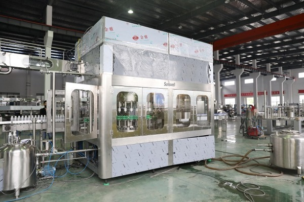 aluminum bottle water filling machine 2
