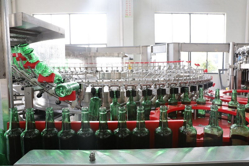 72 heads rotary bottle rinser-1