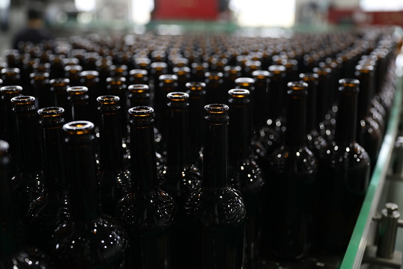 9,000BPH Glass bottled Beer Production Line