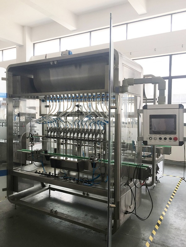 a Sanitizer Filling Line