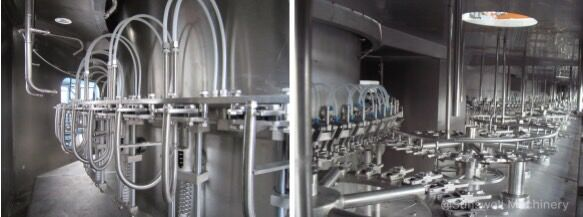 details of aseptic liquid filling machines