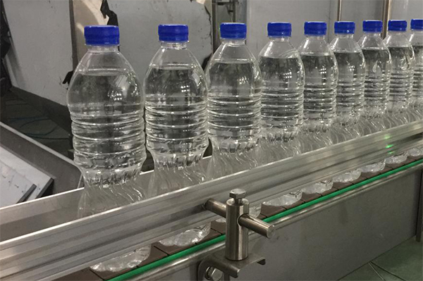 Production Process of Mineral Water