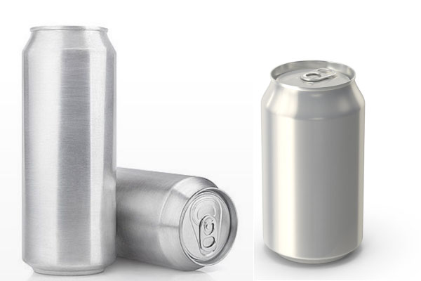 beverage can sizes