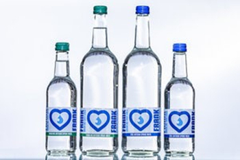 Drinking Water Packing in Glass Bottle Meet High-end Market Requirement